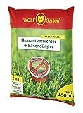 WOLF-Garten - 2-in-1: Unkrautvernichter plus Rasendünger