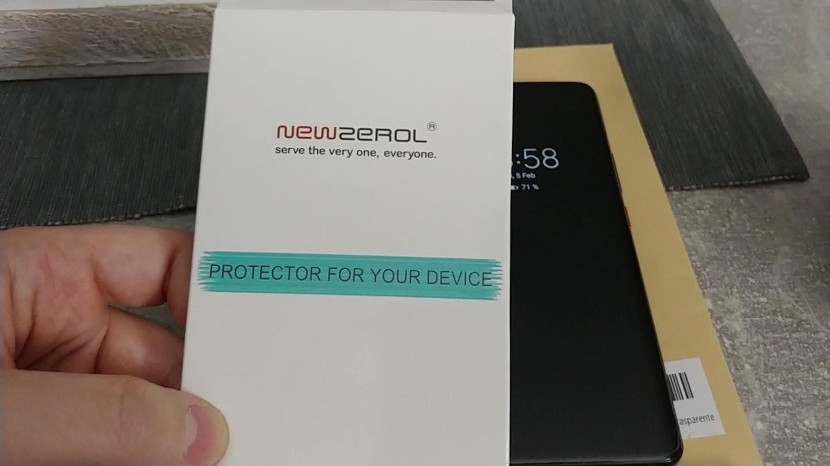 Huawei Mate 20 Pro Displayschutzfolie Test Verpackung