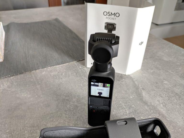 DJI Osmo Pocket Display