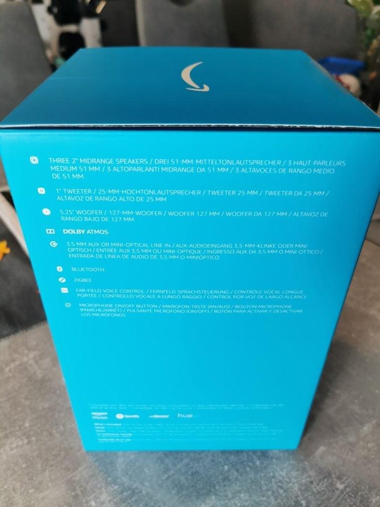 Echo Studio Verpackung Seite 2