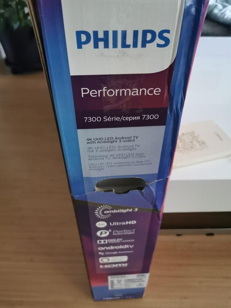 Philips The One Karton Seite