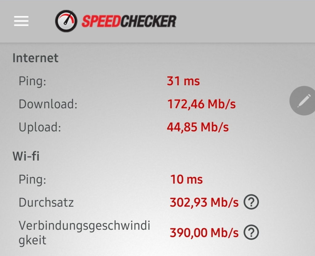 Orbi RBK50 Speed-Test_WHZ_Speed Checker