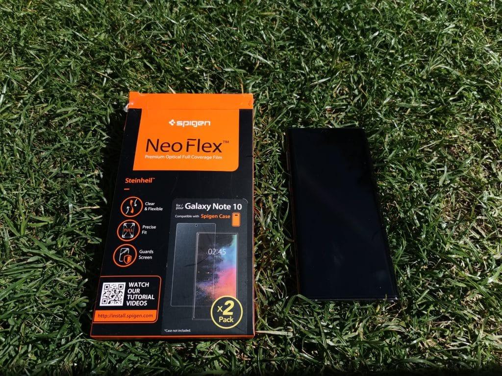 Samsung Galaxy Note10 Spigen NeoFlex Test