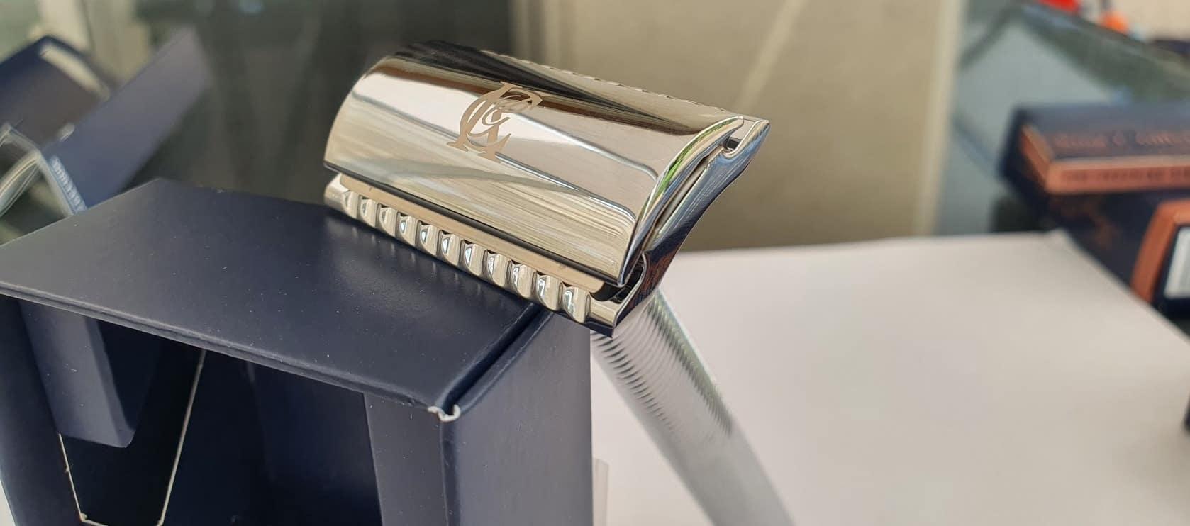 Gillette King C. Rasierhobel Testbericht - Geschlossener Kamm