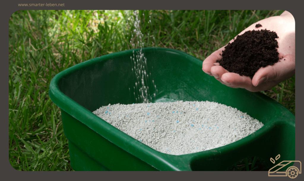 Rasen im Frühling richtig Düngen - Rasenpflege Ratgeber