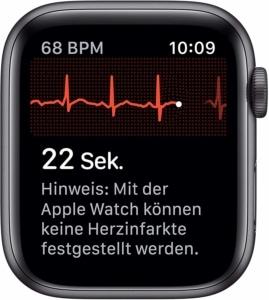 Apple Watch 5 EKG