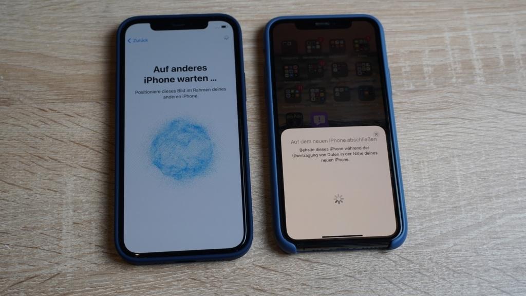 Apple iPhone 12 Pro Test - Einrichtung des iPhones