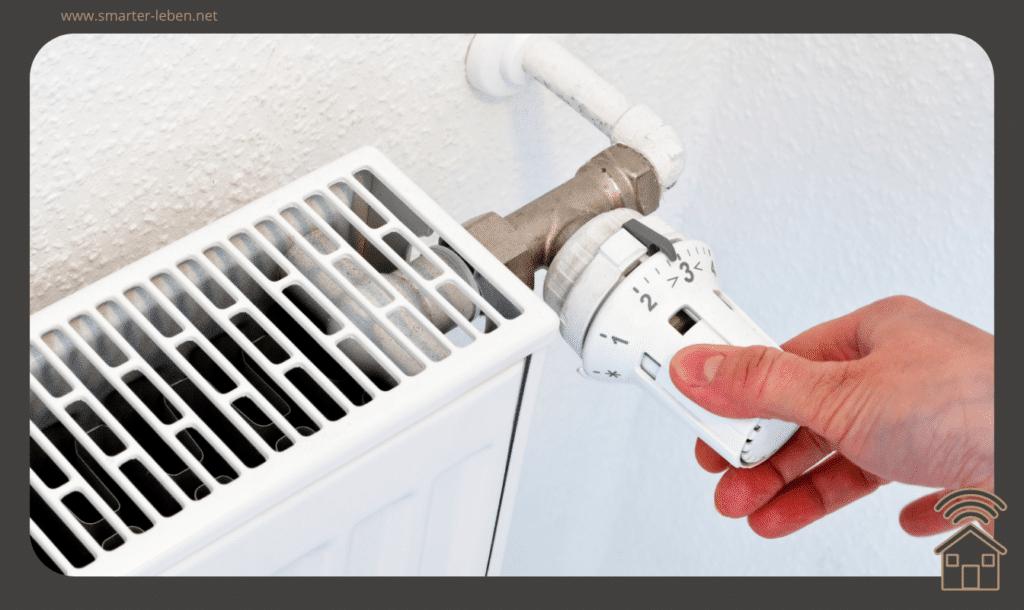 Heizkosten sparen - Tipps und Tricks - Temperatur absenken