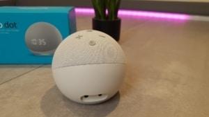 Amazon Echo Dot 4 im Test - Anschlüsse