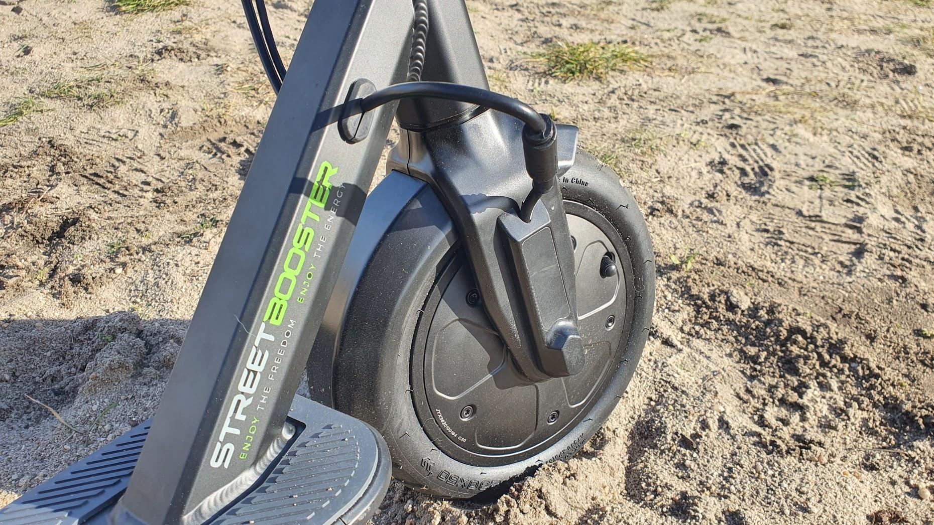 E-Scooter Streetbooster One im Test - Reifen